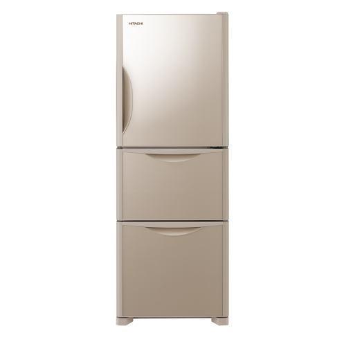 【無料長期保証】日立 R-S27JV-XN Sシリーズ 3ドア冷蔵庫(265L・右開き) クリスタルシャンパン