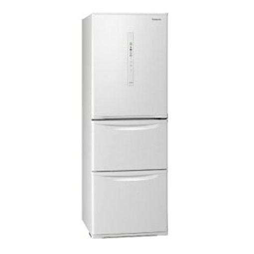 【無料長期保証】パナソニック NR-C340CL-W 3ドア冷蔵庫 (335L・左開き) ピュアホワイト