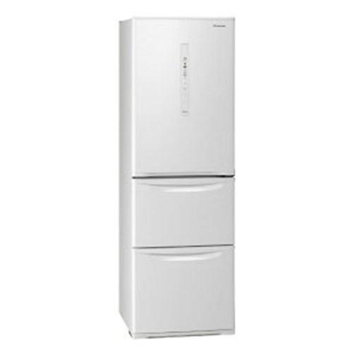 【無料長期保証】パナソニック NR-C370C-W 3ドア冷蔵庫 (365L・右開き) ピュアホワイト