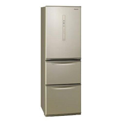 【無料長期保証】パナソニック NR-C370CL-N 3ドア冷蔵庫 (365L・左開き) シルキーゴールド