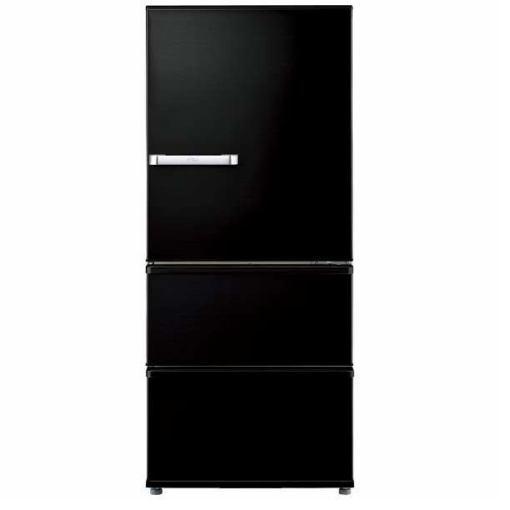 【ポイント10倍!】【無料長期保証】AQUA AQR-SV27H-K 3ドア冷蔵庫 (272L・右開き) ヴィンテージブラック