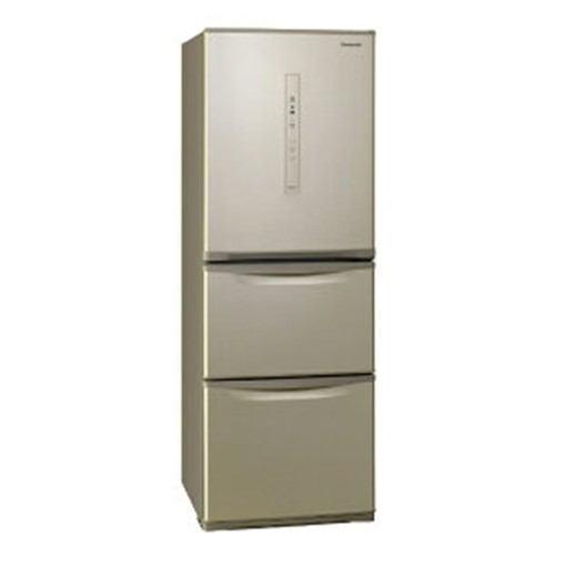 【無料長期保証】パナソニック NR-C340CL-N 3ドア冷蔵庫 (335L・左開き) シルキーゴールド