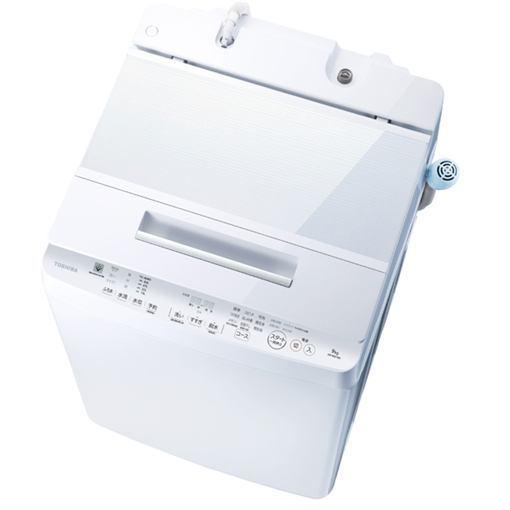 【ポイント10倍!】【無料長期保証】東芝 AW-9SD7(W) 全自動洗濯機 (9.0kg) 「ZABOON(ザブーン)」 グランホワイト