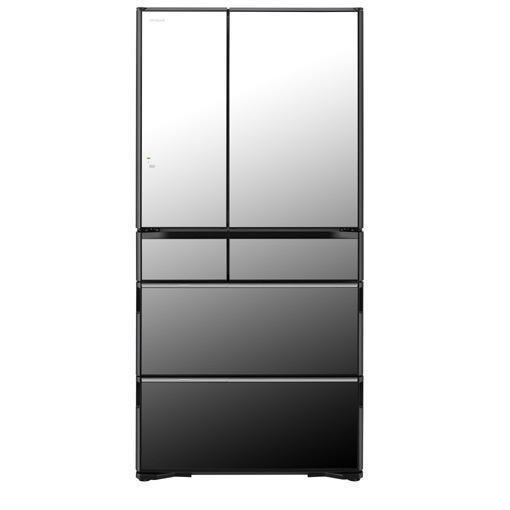 【無料長期保証】日立 R-WX74K-X 6ドア冷蔵庫(735L・フレンチドア) クリスタルミラー