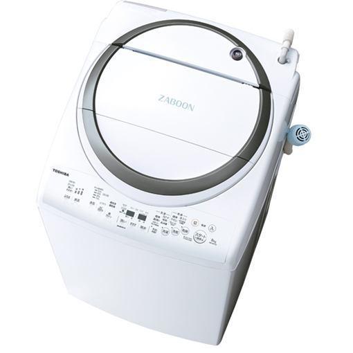 【ポイント10倍!】【無料長期保証】東芝 AW-8V7(S) 洗濯乾燥機 (洗濯8.0kg/乾燥4.5kg) 「ZABOON(ザブーン)」 シルバー