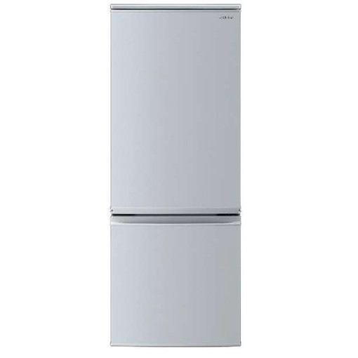 シャープ SJ-D17E-S 2ドア冷蔵庫(167L・左右付替タイプ) シルバー系
