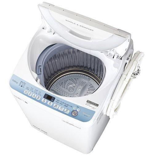 【無料長期保証】シャープ ES-T711-W 全自動洗濯機 (洗濯7.0kg) ホワイト