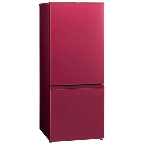 【ポイント10倍!】AQUA AQR-18H-R 2ドア冷蔵庫 (184L・右開き) ルージュ