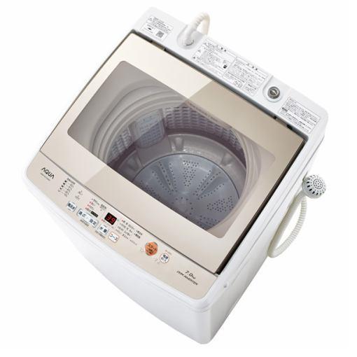 【ポイント10倍!】AQUA AQW-GV70G-W 全自動洗濯機 (洗濯7.0kg) ホワイト