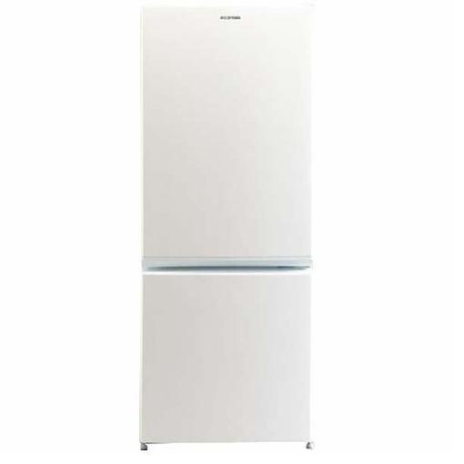 アイリスオーヤマ AF156Z-WE 2ドア冷蔵庫 (156L・右開き)