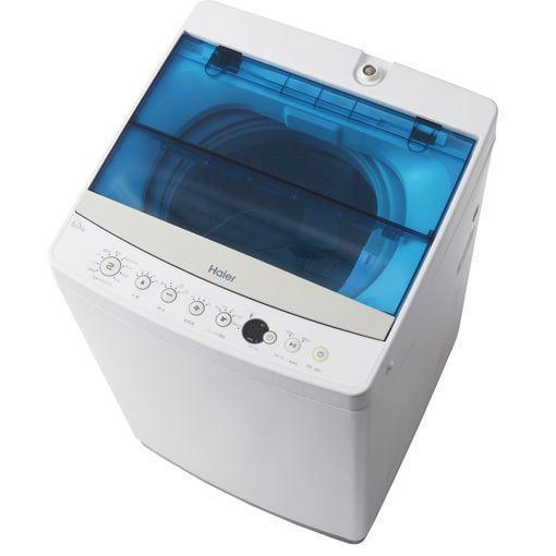 【ポイント10倍!】ハイアール JW-C60A-W 全自動洗濯機 6.0kg ホワイト