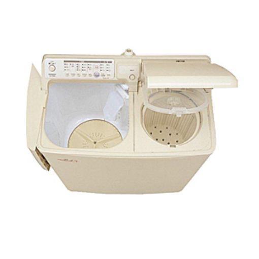 【ポイント10倍!】自動二槽式~青空~ 二槽式洗濯機(4.5kg・上開き) パインベージュ PA-T45K5-CP