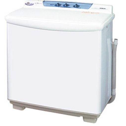 【ポイント10倍!】日立 青空 二槽式洗濯機(8kg・上開き) ホワイト PS-80S-W