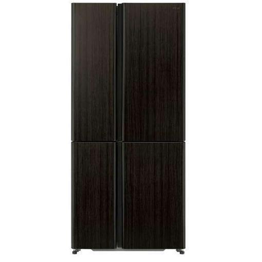 【無料長期保証】AQUA AQR-TZ51H-T 4ドア冷蔵庫 (512L・フレンチドア) ダークウッドブラウン