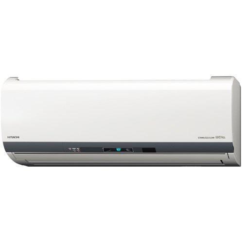 【無料長期保証】【標準工事代込】日立 RAS-EL71J2-W エアコン 200V 「白くまくん ELシリーズ」 (23畳用) スターホワイト