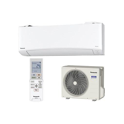 【無料長期保証】【標準工事代込】パナソニック CS-EX639C2-W エアコン Eolia(エオリア) EXシリーズ (20畳用)