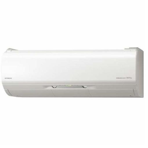 【ポイント10倍!】【標準工事代込】日立 RAS-X25J-W エアコン 「白くまくん Xシリーズ」 (8畳用) スターホワイト