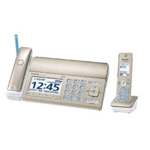 パナソニック KX-PZ720DL-N 店内全品対象 FAX機 おたっくす シャンパンゴールド 普通紙 ご予約品 FAX 子機1台 ファックス