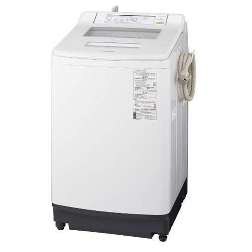 【無料長期保証】パナソニック NA-JFA806-W 全自動洗濯機 洗濯8kg クリスタルホワイト