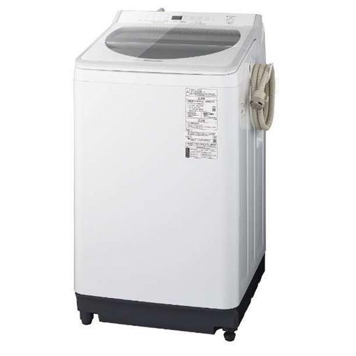 【無料長期保証】パナソニック NA-FA80H7-W 全自動洗濯機 洗濯8kg ホワイト