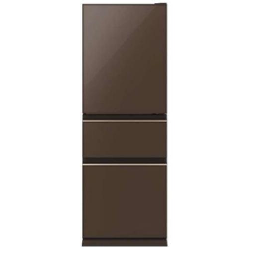 【無料長期保証】三菱 MR-CG33E-T 3ドア冷蔵庫(330L・右開き) ナチュラルブラウン, 北杜市:dd4edabe --- officewill.xsrv.jp