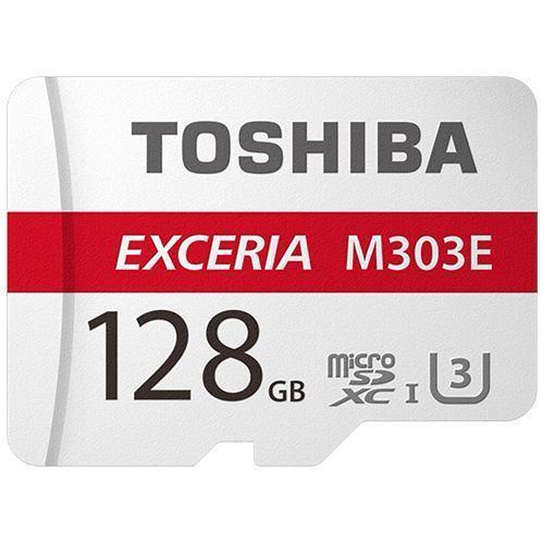 東芝 EMU-A128G EXCERIA 高耐久microSDXCカード 128GB