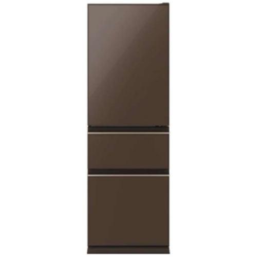 【無料長期保証】三菱 MR-CG37E-T MR-CG37E-T 3ドア冷蔵庫(365L・右開き) ナチュラルブラウン, 家具倶楽部:7245a038 --- officewill.xsrv.jp