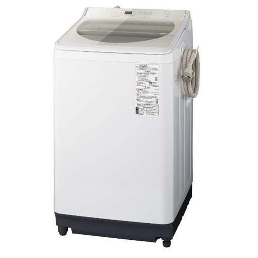 【無料長期保証】パナソニック NA-FA100H7-N 全自動洗濯機 洗濯10kg シャンパン