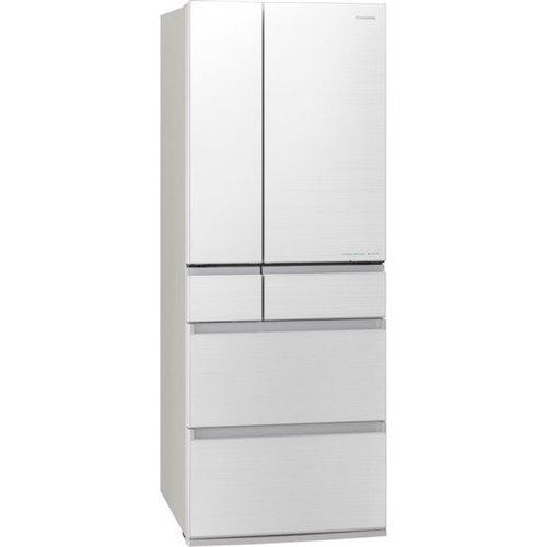 【無料長期保証】パナソニック NR-F606WPX-W パーシャル搭載6ドア冷蔵庫(600L・フレンチドア) エコナビ/ナノイーX搭載 フロスティロイヤルホワイト