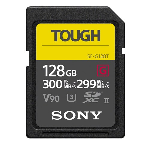 SONY SF-G128T 128GB SDXC UHS-II メモリーカード Class10