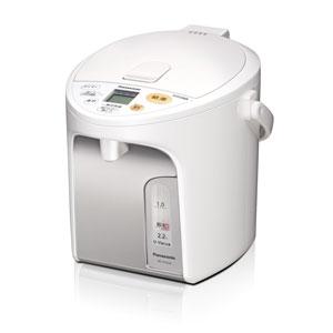 パナソニック NC-HU224-W 電動給湯式電気ポット (2.2L) ホワイト