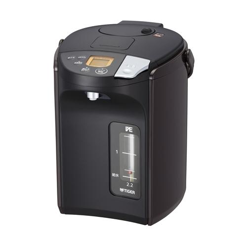 タイガー PIS-A220T 蒸気レスVE電気まほうびん 「とく子さん」 2.15L ブラウン