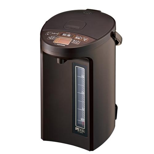 象印 CV-GB40-TA マイコン沸とうVE電気まほうびん ブラウン 価格 期間限定送料無料 4.0L
