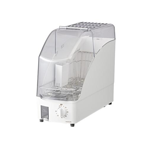 コイズミ 交換無料 KDE-0500 送料無料カード決済可能 W 食器乾燥器 ホワイト