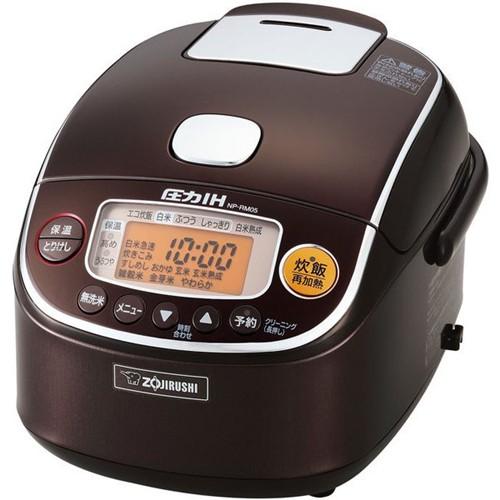 象印 NP-RM05-TA 圧力IH炊飯器 極め炊き 3合炊き ブラウン