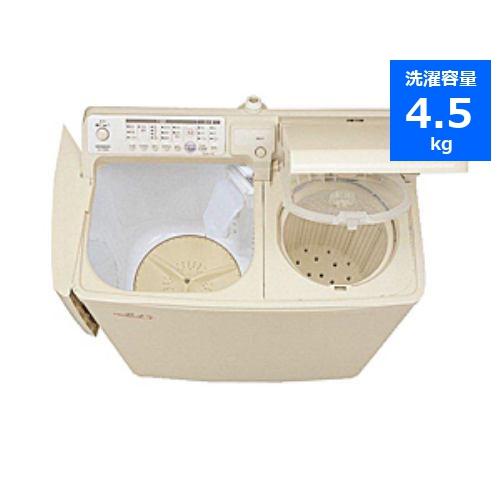 自動二槽式~青空~ 二槽式洗濯機(4.5kg・上開き) パインベージュ PA-T45K5-CP