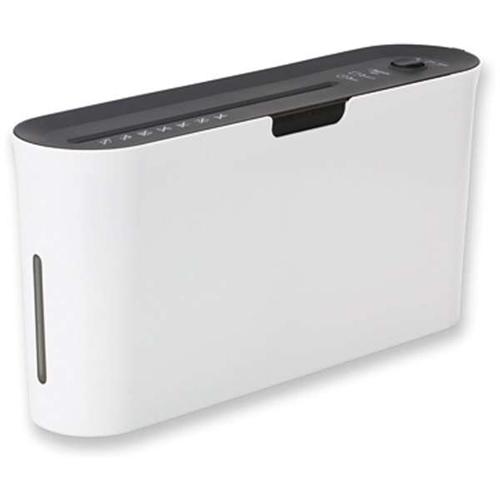 日本正規品 アスカ B03W クロスカット卓上シュレッダー A4サイズ ホワイト 大好評です