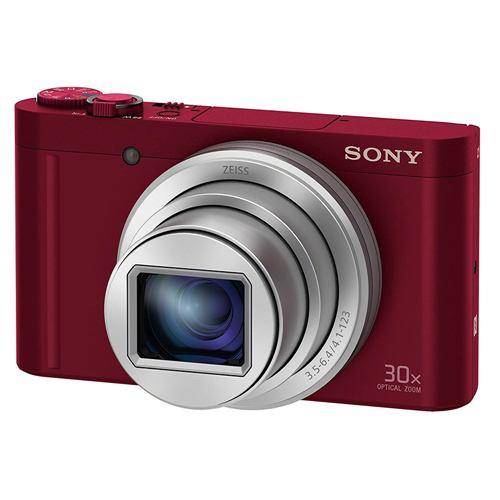 ソニー DSC-WX500-R デジタルカメラ Cyber-shot(サイバーショット) レッド