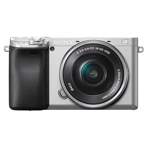 ソニー ILCE-6400LS デジタル一眼カメラ パワーズームレンズキット シルバー