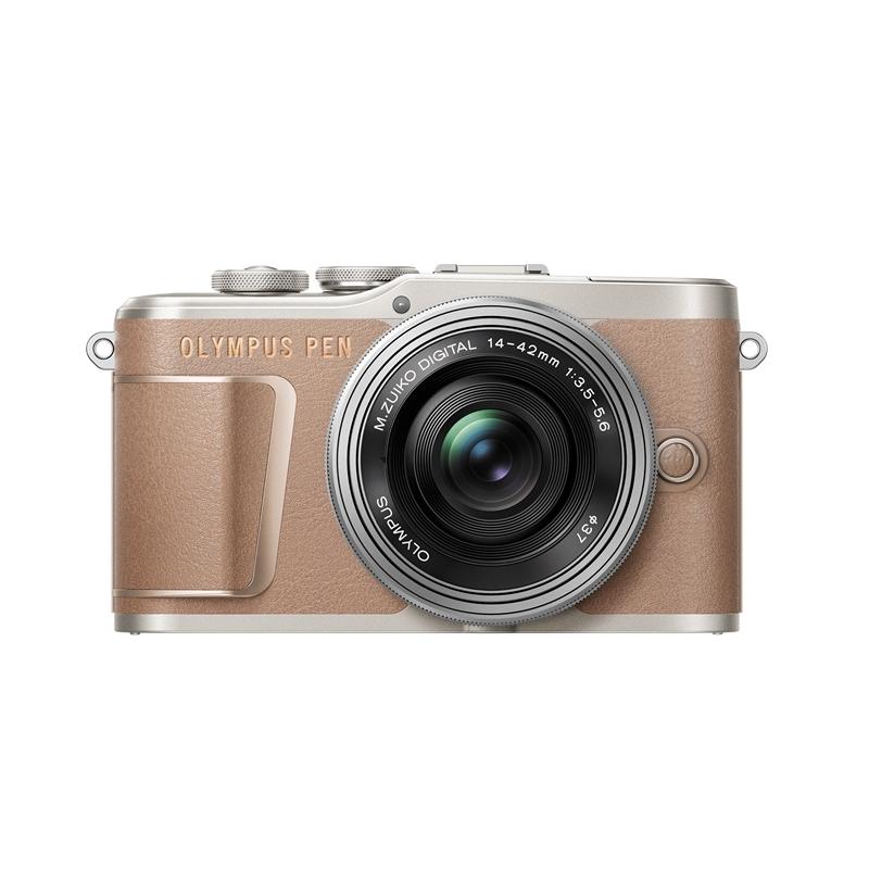 オリンパス E-PL10・14-42mmEZ レンズキット BRW ミラーレス一眼カメラ PEN ブラウン
