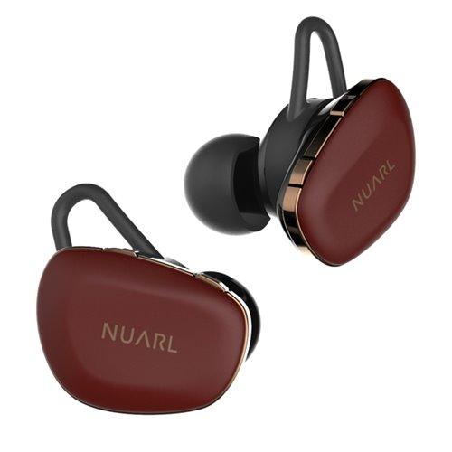 ヌアール N6PRO-RC HDSS 完全ワイヤレス ステレオイヤホン レッドカッパー