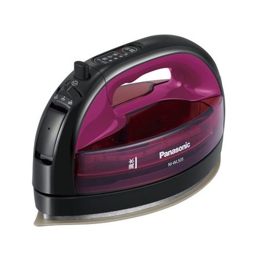 NEW パナソニック NI-WL505-P コードレススチームアイロン 至高 アイロン ピンク
