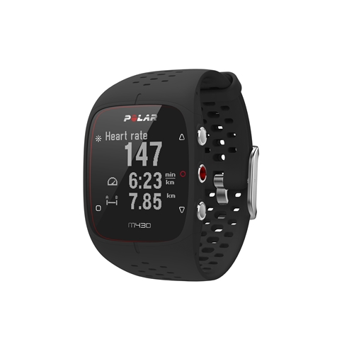 POLAR 90066336 ポラール GPSランニングウォッチ M430 ブラック M/Lサイズ