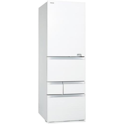 【無料長期保証】東芝 GR-S500GZ(UW) 5ドア冷蔵庫(501L・右開き) VEGETA(べジータ) GZシリーズ クリアグレインホワイト