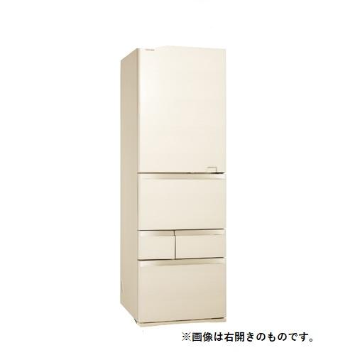 【無料長期保証】東芝 GR-S470GZL(ZC) 5ドア冷蔵庫(465L・左開き) VEGETA(べジータ) GZシリーズ ラピスアイボリー