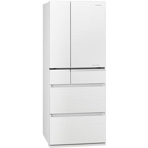 【無料長期保証】パナソニック NR-F476XPV-W 6ドアパーシャル冷凍冷蔵庫 (470L・フレンチドア) マチュアホワイト