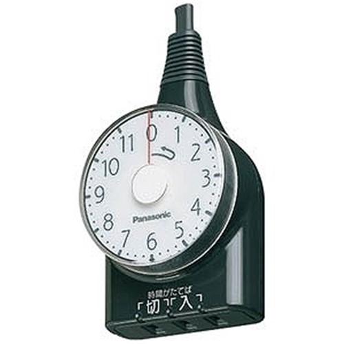 パナソニック WH3111BP ブラック 超定番 11時間型 タイマー 新登場 ダイヤルタイマー