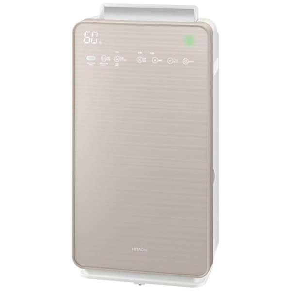 日立 EP-NVG90-N 加湿空気清浄機 「自動おそうじ クリエア」 (空清42畳まで/加湿30畳まで) シャンパンゴールド