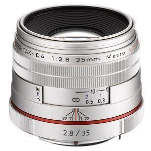 HD PENTAX-DA 35mm F2.8 Macro Limited シルバー