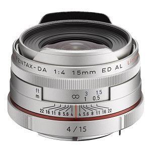 HD PENTAX-DA 15mm F4ED AL Limited シルバー
